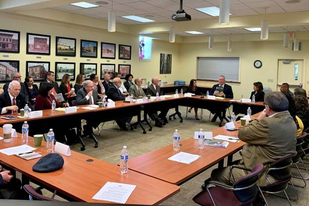 Carroll Meets with Rural Leaders