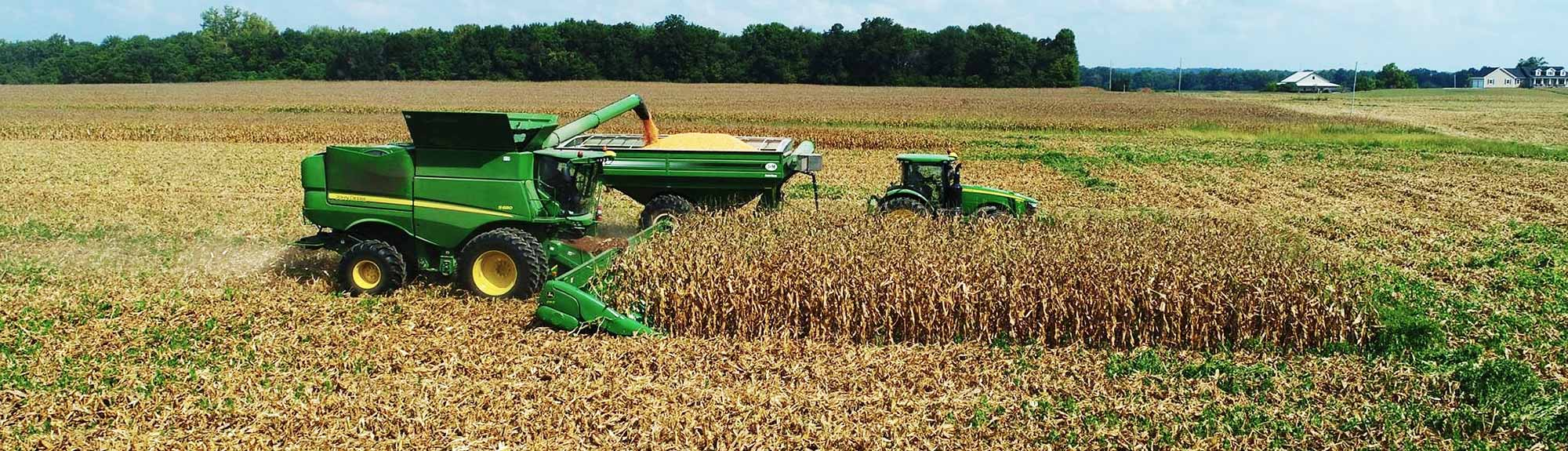 Anson Family Farms corn and soybean operation