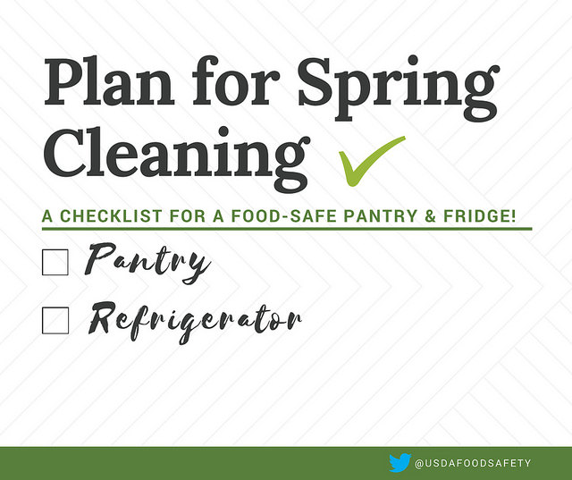 Planning Some Spring Cleaning? A Check List For A Food