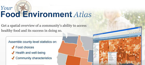 Get a spatial overview of a community's ability to access healthy food and its success in doing so.