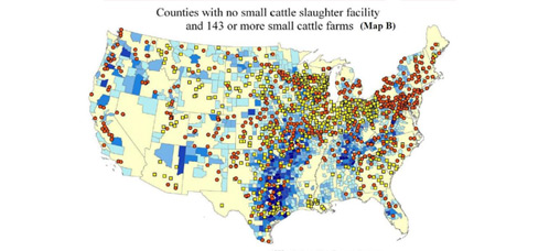 Mapping Slaughter Availability in the U.S.
