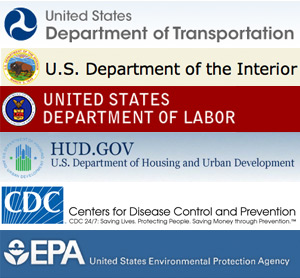 Department of Transportation; Department of the Interior; Department of Labor; Department of Housing and Urban Development; Centers for Disease Control and Prevention; Environmental Protection Agency