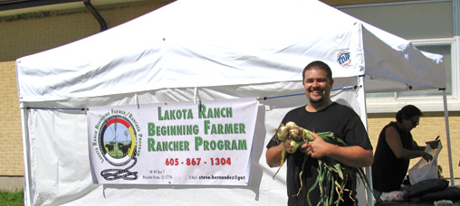 A recent Oglala Sioux Tribal Youth Summit in South Dakota celebrated National Farmers Market Week.