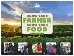 The Know Your Farmer, Know Your Food Compass Cover.