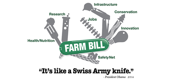 2014 Farm Bill: 'It's like a Swiss Army knife'