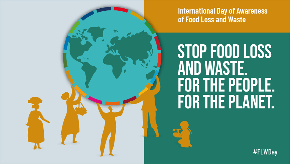 International Day of Awareness of Food Loss and Waste graphic