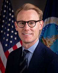 Deputy General Counsel Tyler Clarkson portrait