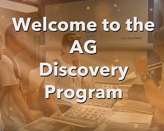 Welcome to the AG Discovery Program