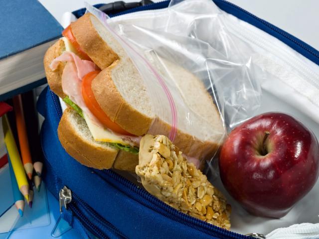 A school lunch