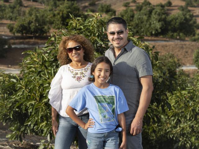 The Prieto family photo