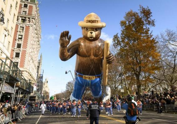 Smokey Bear Thanksgiving Parade