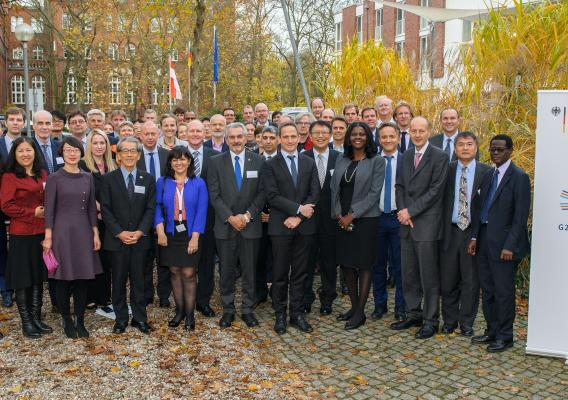 The 2017 G20 MACS delegates met in Potsdam, Germany to discuss the importance of shared agricultural research, including approaches addressing food loss and waste.