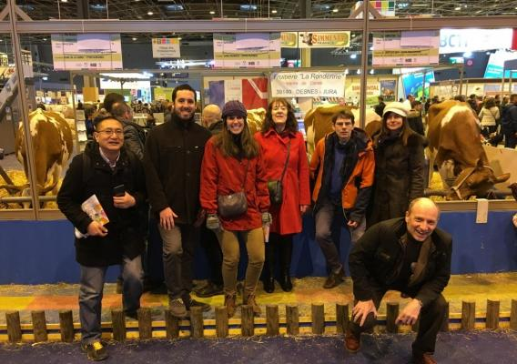 OECD Staff attending Paris Agricultural Expo