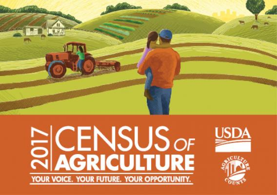 2017 Census of Agriculture - Your Voice, Your Future, Your Opportunity