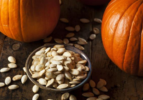 Pumpkins and pumpkin seeds