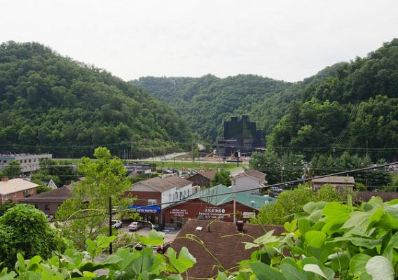 A town of Pikeville, KY
