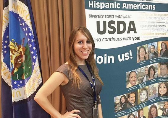 Elizabeth Yepes, International Trade Specialist at USDA's Foreign Agricultural Service
