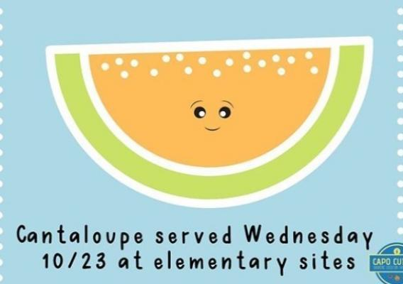 Capistrano Unified School District Melon social media post