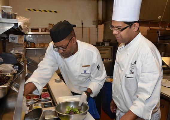 Executive Chef Sriram Hariharan and William
