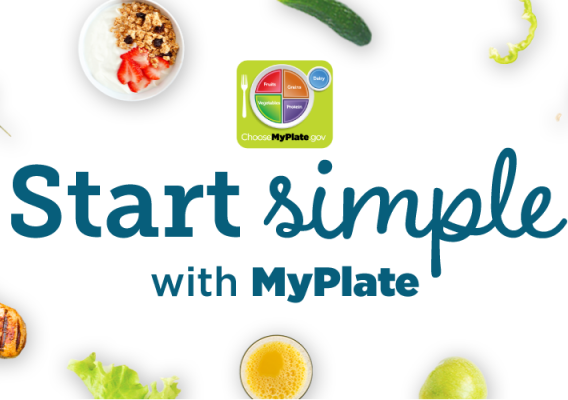 Start Simple with MyPlate graphic