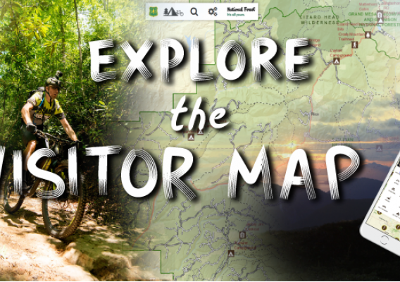 Explore the Visitor Map graphic