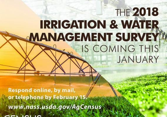 The 2018 Irrigation and Water Management Survey graphic