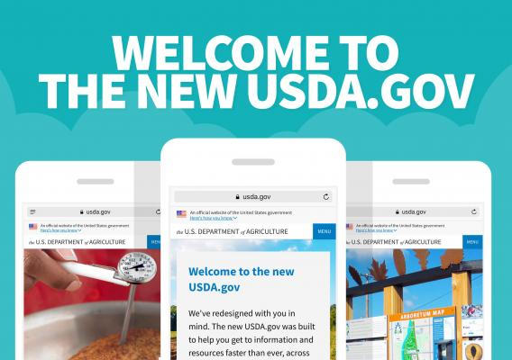 Welcome to the new usda.gov