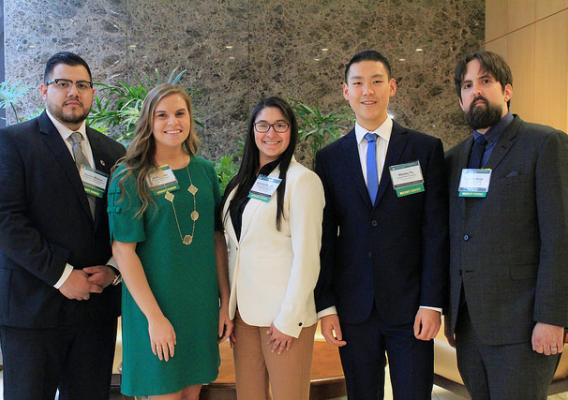 Student Diversity Winners attending the 2018 Ag Outlook Forum
