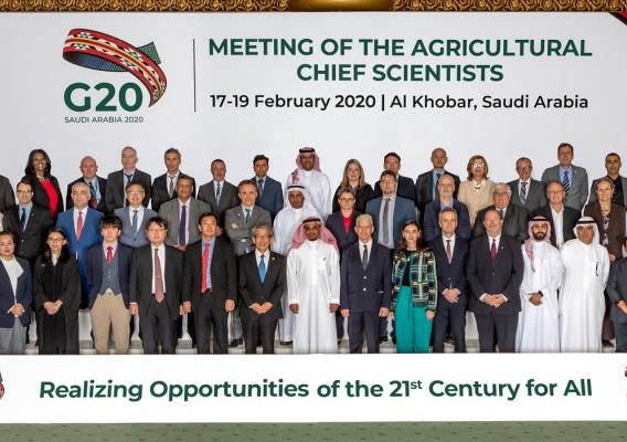 Ninth G20 Meeting of the Agricultural Chief Scientists in Al-Khobar, Saudi Arabia