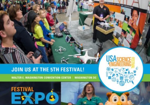 USA Science and Engineering Festival graphic