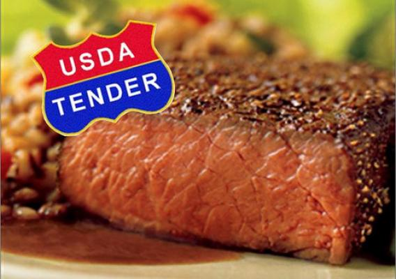USDA worked with academia and industry over the past several years to develop a system to determine beef tenderness, using an objective scale to ensure that cuts with the new label consistently meet consumer expectations.