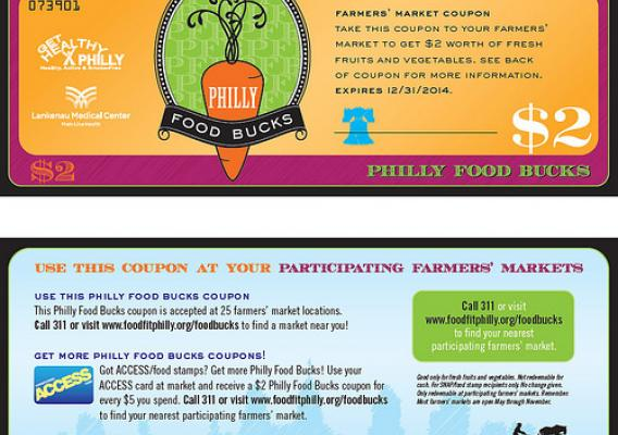 Philly Food Bucks coupons