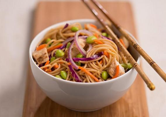 Sesame Asian Noodle Chicken Salad