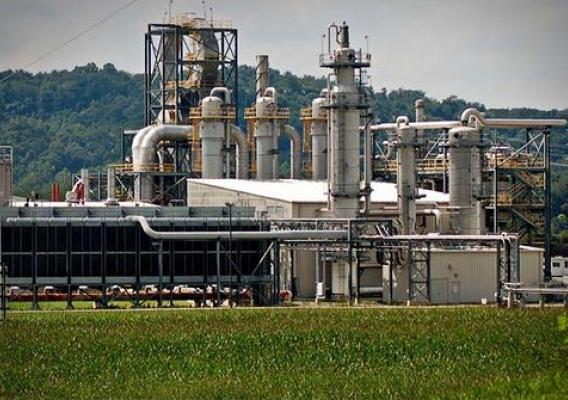 The Three Rivers Energy biorefinery in Coshocton, OH