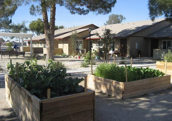 A newly renovated senior housing facility in Arizona, funded in part by USDA Rural Development. (Photo used with permission)