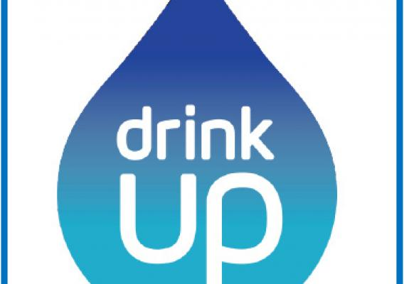 The 'Water: You Are What You Drink' campaign symbol.