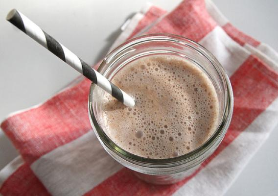 Chocolate milk is becoming a popular drink for adults looking to recover after a tough workout. Check out the Milk Pep site for milk research, recipes, and much more. Photo courtesy of Tracy Benjamin