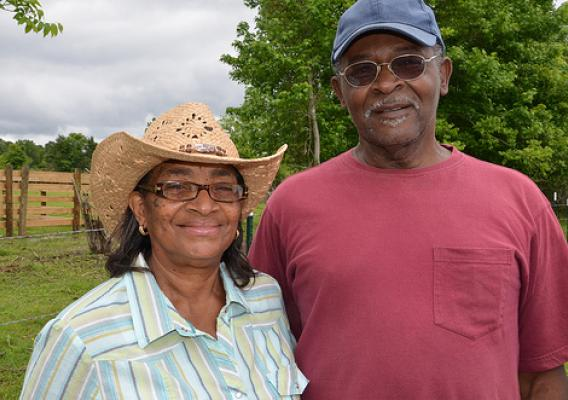 Emma and Percy Brown of Vicksburg, Miss., are beginning farmers whose lives have benefited from funding through the USDA StrikeForce for Rural Growth and Opportunity initiative.