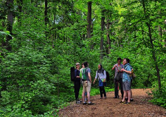 "For three days, the Forest Service's New York City Urban Field Station served as a home base for scientists participating in a workshop titled, ""Urban Natures: Engaging Social Science Perspectives."" (Courtesy Adrina Bardekjian)"