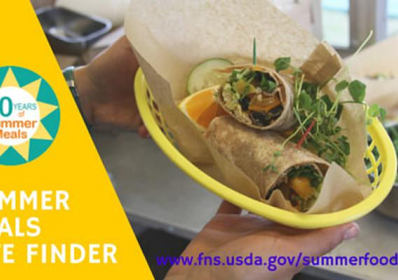Summer Meals Site Finder graphic