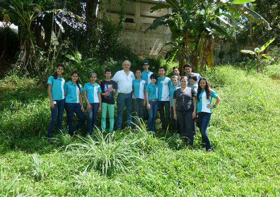 Future Scientists Program participants explore corn earworm research projects with Dr. Craig Wilson and Tropical Agriculture Research Station (TARS) scientists in Mayaguez, Puerto Rico.