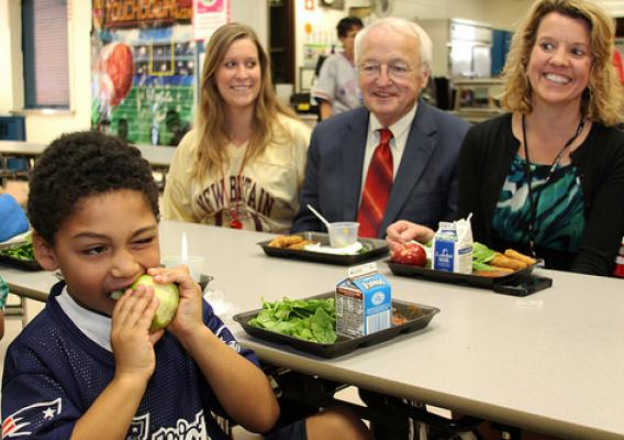 Kids are eating more fruits and vegetables as a result of updated standards. A recent Harvard study has concluded that, under the updated standards, kids are now eating 16 percent more vegetables and 23 percent more fruit at lunch.