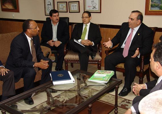 On June 28 and 29, Administrator Brewer met with Honduran government officials, including Agriculture and Livestock Minister Jacobo Regalado.