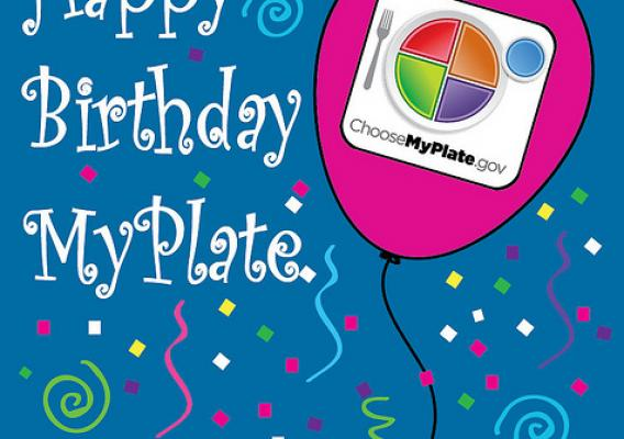 MyPlate celebrates its 2nd Anniversary on June 2, 2013.