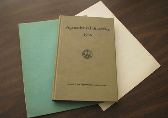 <em>Agricultural Statistics</em> has a long history of publication and is an important archive for researchers to study the history of U.S. farming.