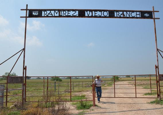 The Ramirez Viejo Ranch in Penitas, Texas is a decades-old ranch. Photo courtesy of NRCS.