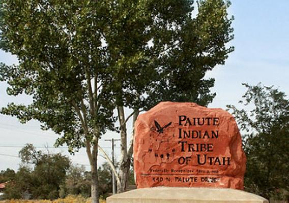 The Paiute Tribe headquarters in Cedar City, Utah.