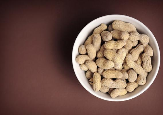 Peanuts in a bowl