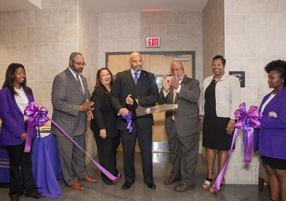 Ribbon Cutting for the Socially Disadvantage Farmers and Ranchers Policy Research Center at Alcorn State University