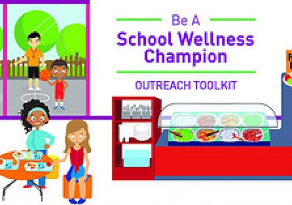 Nutrition education and promotion are part of a Local School Wellness Policy.